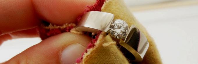 Чем очистить золото в домашних условиях до блеска в 575