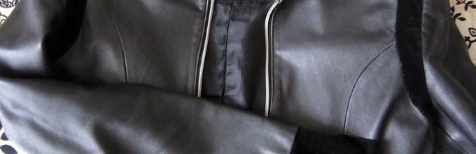 кожаная куртка после дождя стала грубой что делать
