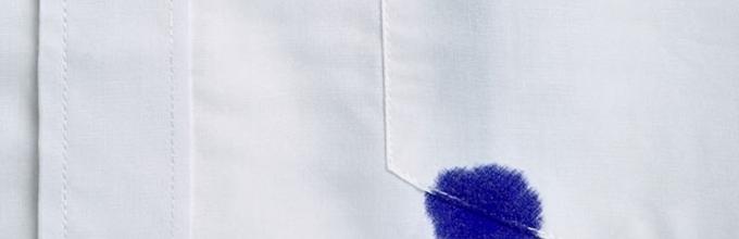 Как вывести шариковую ручку с джинсов в домашних условиях