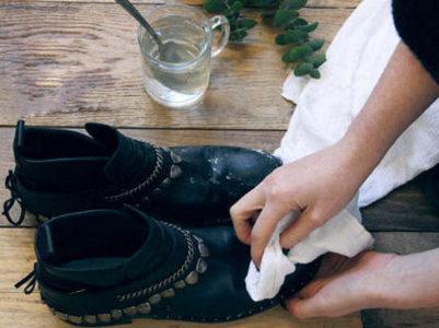 Как почистить замшевые сапоги от соли и разводов в домашних условиях