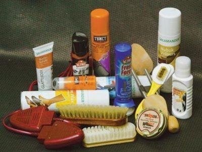 Арсенал для чистки: кремы, спреи и шампуни
