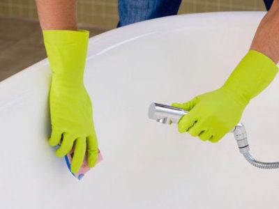 Очищение эмалированной поверхности без применения химии
