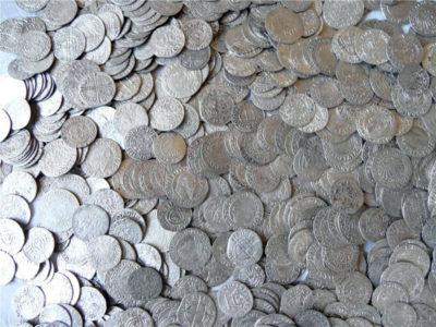 Отмывание медных монет