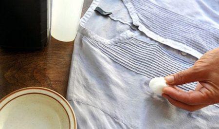 Что делать, если испачкали белую одежду? фото